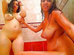 Big Boobs, Lesbian, Webcam