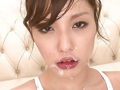 Handjob, Japanese, Teen, Blowjob, Brunette