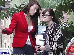 Lesbian, MILF, Threesome