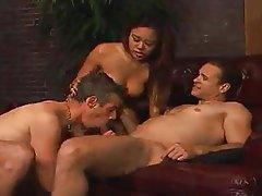 Bisexual, Threesome, Strapon