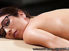 Big Boobs, Lesbian, Massage, Small Tits