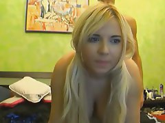 Big Boobs, Blonde, Webcam