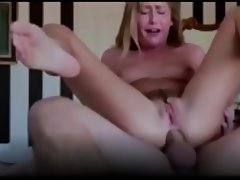 Blonde, Blowjob, POV, Rimjob