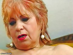 BBW, Granny, Masturbation, Mature, Saggy Tits