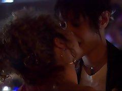 Babe, Brunette, Celebrity, Kissing