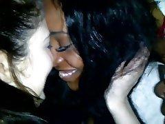 Amateur, Lesbian, Bisexual, Interracial