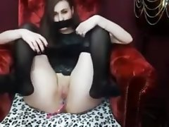 Masturbation, Pantyhose, Russian