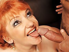 Cumshot, Mature, Big Boobs, Old and Young