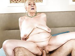 BBW, Old and Young, Granny, Saggy Tits