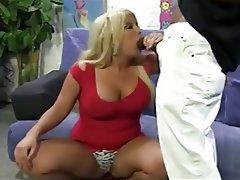 BBW, Big Boobs, Blonde, Interracial