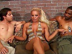 Bisexual, Femdom, Interracial, Strapon