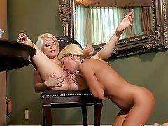 Lesbian, Lingerie, Small Tits