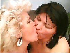 Granny, Hairy, Lesbian