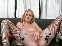 Blonde, Anal, Handjob, Masturbation
