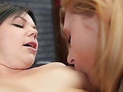 Ass Licking, Blonde, Brunette, Cunnilingus