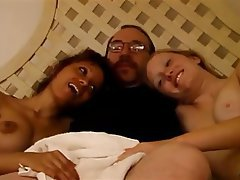 Interracial, Strapon, Threesome