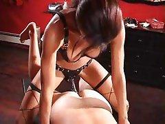 BDSM, Femdom, Interracial, Strapon
