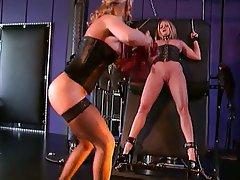 BDSM, Lesbian, MILF, Blonde, Pantyhose