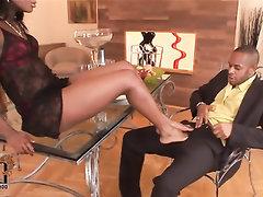 Anal, Blowjob, Cumshot, Feet