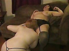 Amateur, BBW, Big Boobs, Lesbian