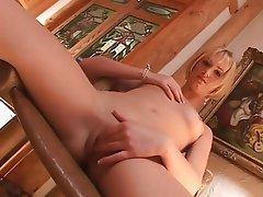 Babe, Blonde, Masturbation, Orgasm